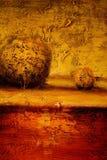 Abstract landschap royalty-vrije stock foto