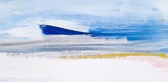 Abstract Landschap Art Painting Background Modern art vector illustratie