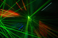 Abstract laser light Royalty Free Stock Photos