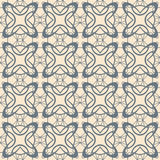 Abstract lattice on a beige background. In seamless pattern Stock Photo