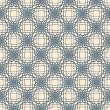Abstract lattice. On a beige background in seamless pattern Stock Photography