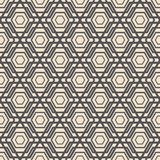 Abstract lattice. On a white background in seamless pattern Royalty Free Stock Photo