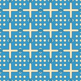 Abstract lattice on a white background. In seamless pattern Royalty Free Stock Image