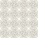 Abstract lattice. On a white background in seamless pattern Stock Photography