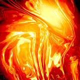 Abstract lava background Stock Photography
