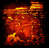 Abstract Lava Grunge Background Stock Photography
