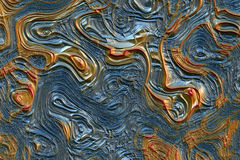 Abstract Lava Stock Image