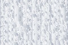 Abstract layered texture background in gradient gray silver colored pattern. Vector illustration, EPS 10. The image is useful as background, backdrop, wallpaper royalty free illustration