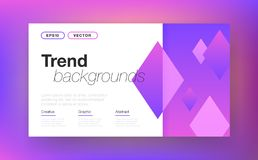 Abstract layout background vector illustration