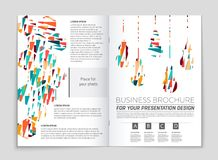 Abstract  layout background set. For art template design, list, front page, mockup brochure theme style, banner, idea, cover Stock Photos