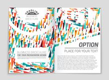 Abstract  layout background set. For art template design, list, front page, mockup brochure theme style, banner, idea, cover. Booklet, print, flyer, book vector illustration
