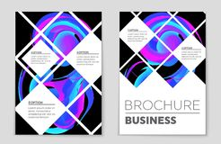 Abstract  layout background set. For art template design, list, front page, mockup brochure theme style, banner, idea, cover Stock Photo