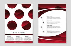 Abstract  layout background set. For art template design, list, page, mockup brochure theme style, banner, idea, cover, book. Abstract  layout background set Royalty Free Stock Photos