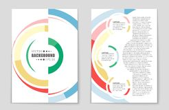 Abstract  layout background set. For art template design, list, page, mockup brochure theme style, banner, idea, cover, book Stock Photos