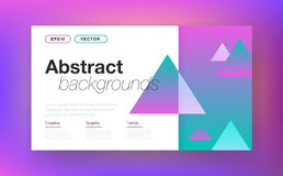 Abstract layout background stock illustration