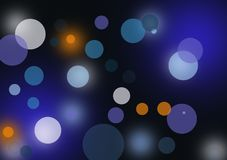 Abstract layout with circular shapes. Circular shaped background wallpaper designed for city light image for text or image layout Royalty Free Stock Images
