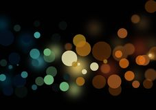 Abstract layout with circular shapes. Circular shaped background wallpaper designed for city light image for text or image layout Stock Photography