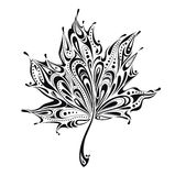 Abstract leaf vector illustration