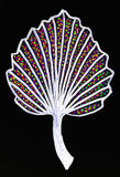 Abstract leaf drawing Royalty Free Stock Photography