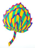 Abstract leaf drawing Royalty Free Stock Image