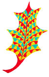 Abstract leaf drawing Royalty Free Stock Photo