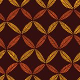 Abstract leaf pattern Royalty Free Stock Photography