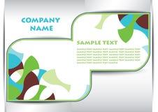 Abstract  leaflet company Stock Photo