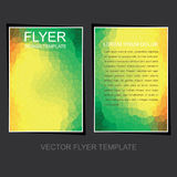 Abstract leaflet design Royalty Free Stock Photos