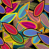 Abstract leafs Royalty Free Stock Photo