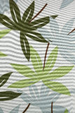 Abstract leafs fabric. Abstract leafs cotton fabric suitable for backgrounds Stock Photos