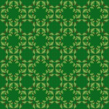 Abstract leaves geometric seamless texture. Royalty Free Stock Images