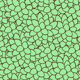 Abstract leaves seamless background. Royalty Free Stock Photo