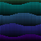 Abstract led waves Stock Image