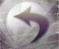 Abstract Left Grunge Arrows Stock Photos
