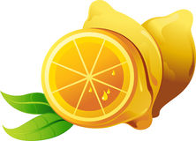 Abstract Lemon Royalty Free Stock Photo