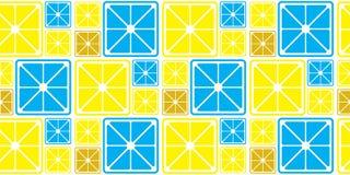 ABSTRACT LEMON SLICE SEAMLESS VECTOR PATTERN. FRESH SUMMER FEELING PATTERN. LEMON. JUICY AND FRESH. SEAMLESS VECTOR PATTERN. SUMMER FEELING. FUNNY FUIT TEXTURE vector illustration