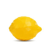 Abstract lemon with triangle style Royalty Free Stock Photo
