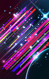 Abstract lens flare trendy  background. Stock Image