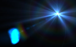 Abstract Lens Flares. With motion Motion background Stock Photos