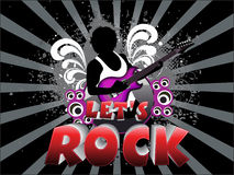 Abstract lets rock background Stock Photos
