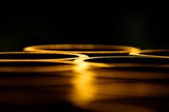 Abstract Licht als achtergrond dat van de lip g wordt weerspiegeld Royalty-vrije Stock Foto
