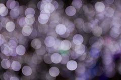 Abstract licht bokeh Stock Afbeelding