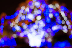 Abstract licht bokeh Stock Afbeelding