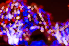 Abstract licht bokeh Stock Foto