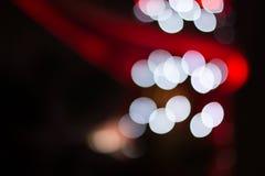 Abstract licht bokeh Stock Afbeeldingen