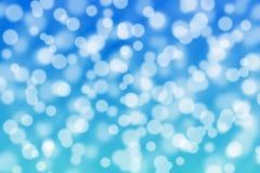 Abstract licht bokeh als achtergrond Royalty-vrije Stock Afbeeldingen