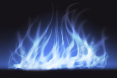 Abstract licht en rook Royalty-vrije Stock Afbeeldingen