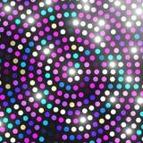 Abstract licht mozaïek De achtergrond van de disco Uitstekend licht mozaïek Vector illustratie Royalty-vrije Stock Foto