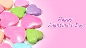 Abstract liefdesuikergoed voor Valentijnskaartenconcept Stock Afbeelding