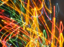Abstract Light. Abstract christmas line of light Stock Photos